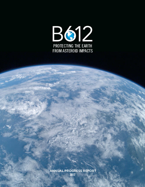 2017 B612 Annual Progress Report-Cover