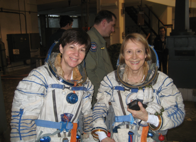 Esther Dyson and Astronaut Cady Coleman
